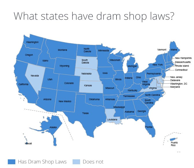 Dram shop laws and liquor liability insurance