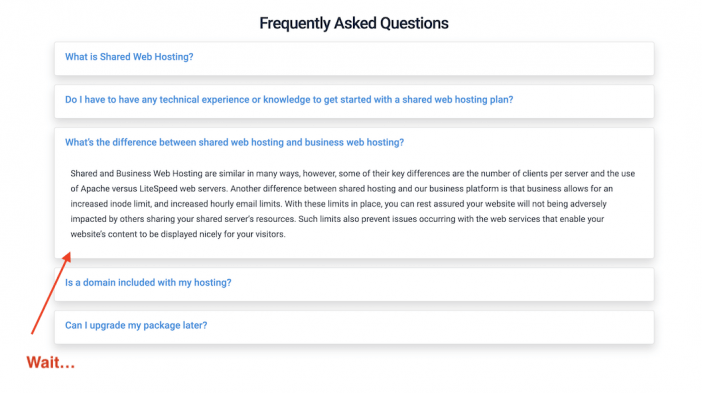 Hostwinds Business FAQs
