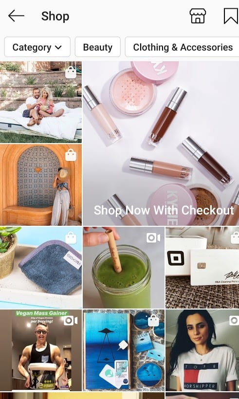 Selling on instagram with shoppable posts