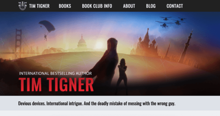 Tim Tigner Author Website