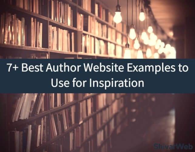 7+ Best Author Websites to Use for Inspiration
