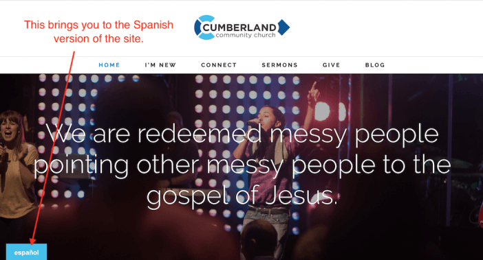 Cumberland Community Church Spanish Version