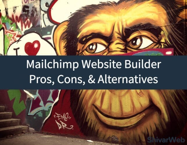 MailChimp Website Builder