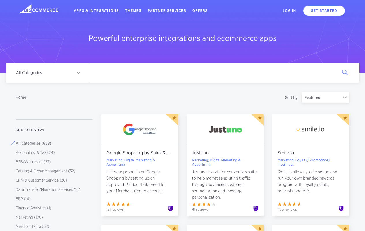 BigCommerce App Marketplace