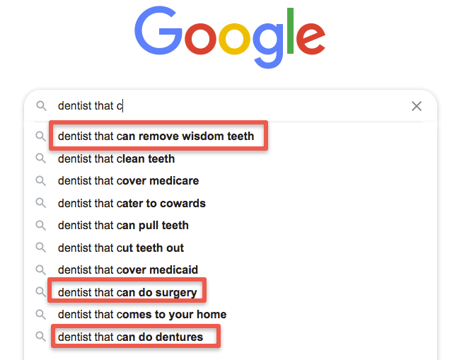 FAQs for dentists