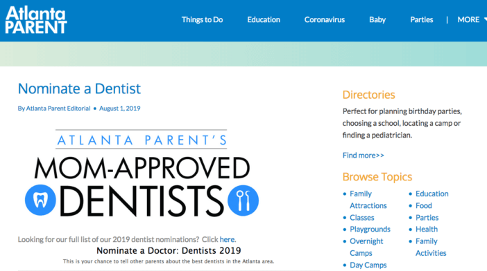 Niche Magazine Example for Dental Marketing