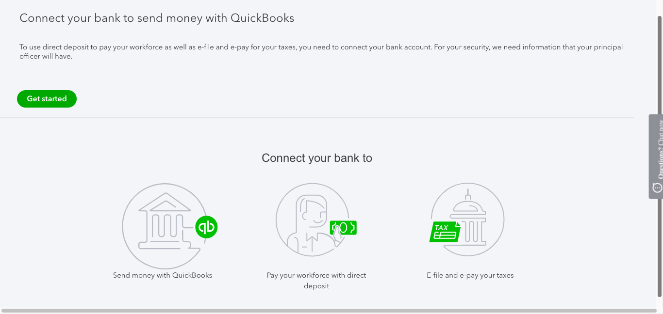 how to do payroll in quickbooks online